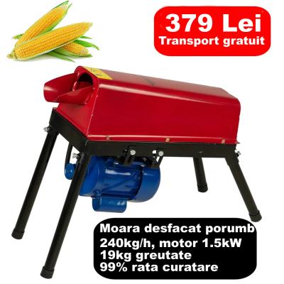 Moara desfacat porumb electrica 1.5KW , 240kg/h [0]