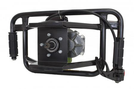 Motoburghiu Procraft 2.5CP, 150x800mm burghiu inclus [3]