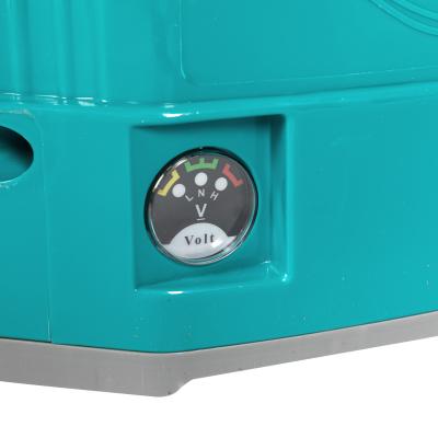 Pompa stropit electrica Pandora 16 Litri, 5 Bar,  + regulator presiune, vermorel cu baterie acumulator [5]