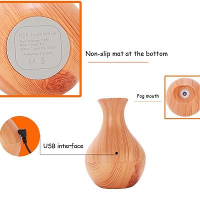 Umidificator difuzor de aromaterapie cu ultrasunete si lumina ambientala 400 ml [4]