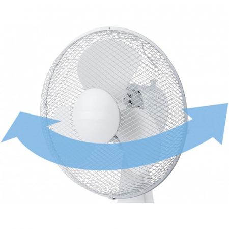 Ventilator pentru birou, 30 cm, 3 trepte de viteza, 35W, Victronic TBF12 [2]