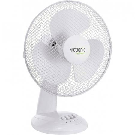 Ventilator pentru birou, 30 cm, 3 trepte de viteza, 35W, Victronic TBF12 [0]