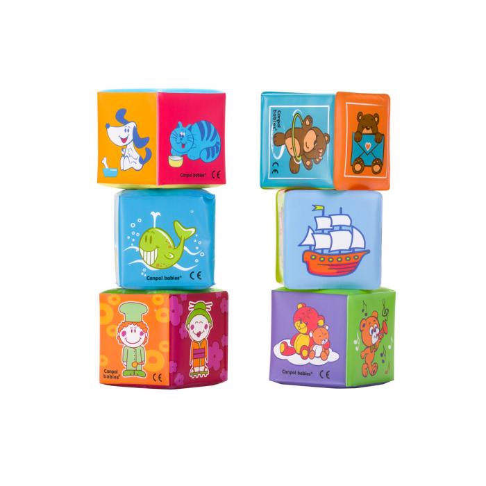 Set cuburi educative, 6 buc [0]
