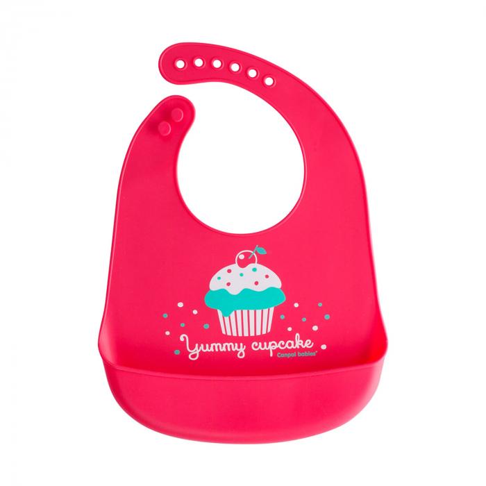 """Baveta din silicon moale """"Cupcake"""", fara BPA 0"""