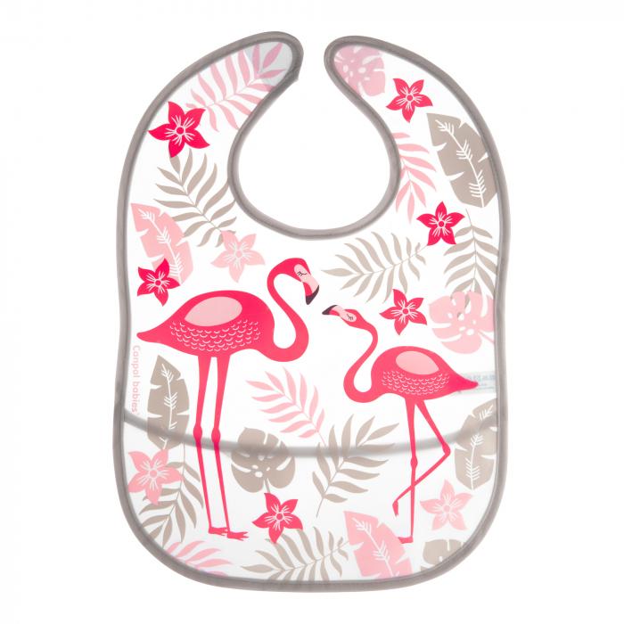 """Baveta """"Jungle"""", Canpol babies®, fara BPA, roz 0"""