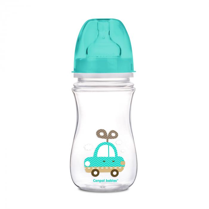 "Biberon anticolici gat larg ""Easy Start Toys"", Canpol babies®, polipropilena, 240 ml 0"