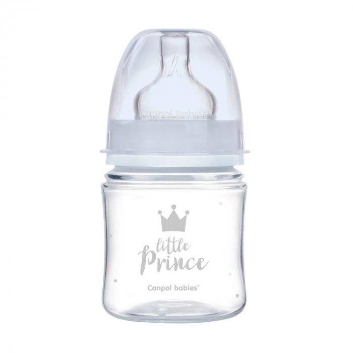 "Biberon anticolici gat larg ""Royal Baby"", polipropilena, 120 ml [0]"
