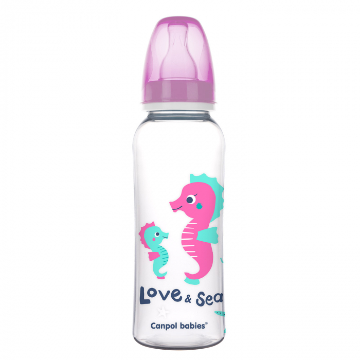 "Biberon ""Love & Sea"", Canpol babies®, polipropilena, 250 ml [0]"