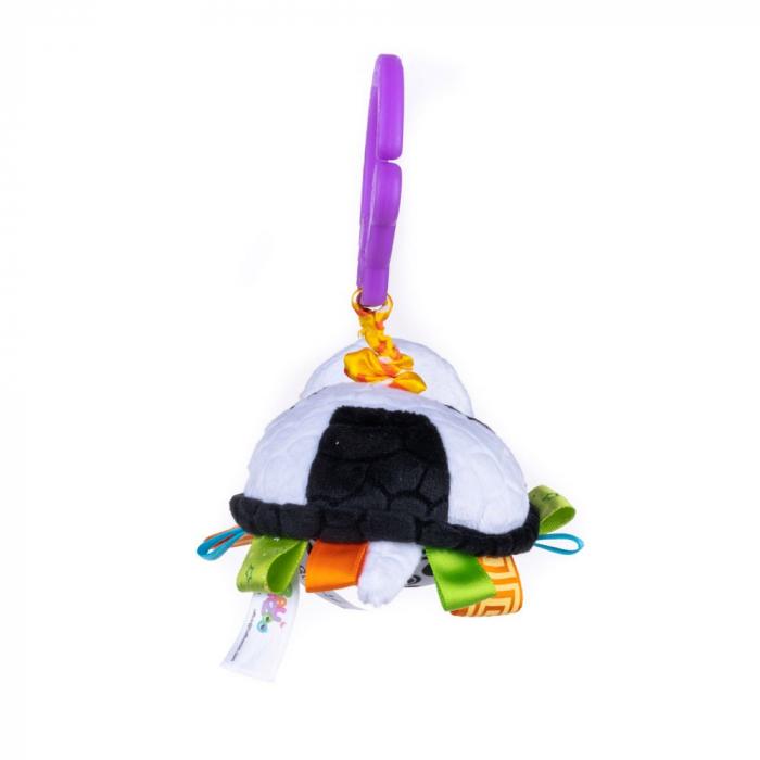 Broscuta, Bali Bazoo, jucarie din plus cu vibratii, multicolor 4