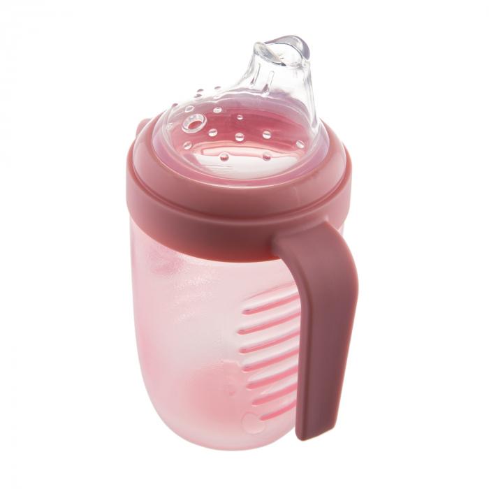 Canita anti-varsare, Canpol babies®, fara BPA, 220 ml, roz [3]