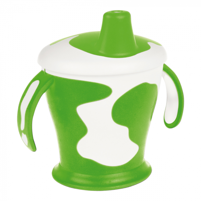 "Canita anti-varsare Haberman ""Vacuta"", Canpol babies®, 250 ml, verde [0]"