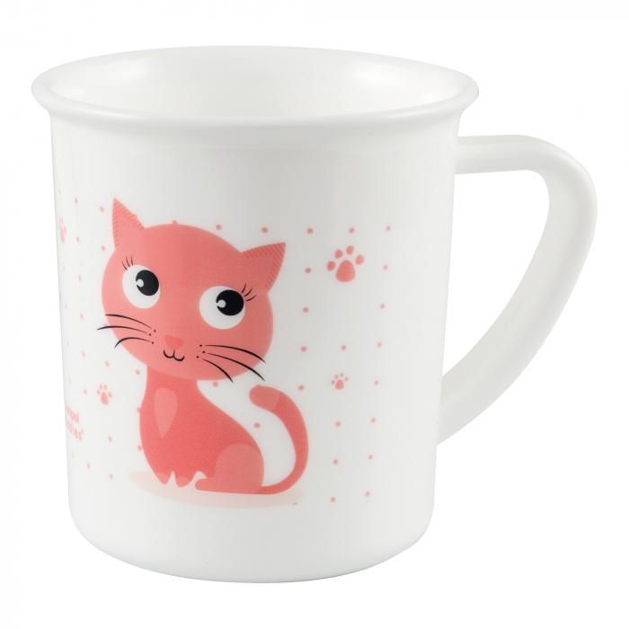 "Canita ""Cute Animals"", Canpol babies®, fara BPA, 170 ml, pisicuta 0"