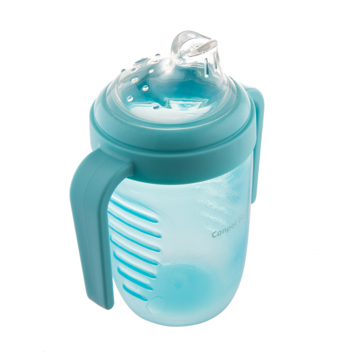 Canita anti-varsare, Canpol babies®, fara BPA, 220 ml, albastru [2]
