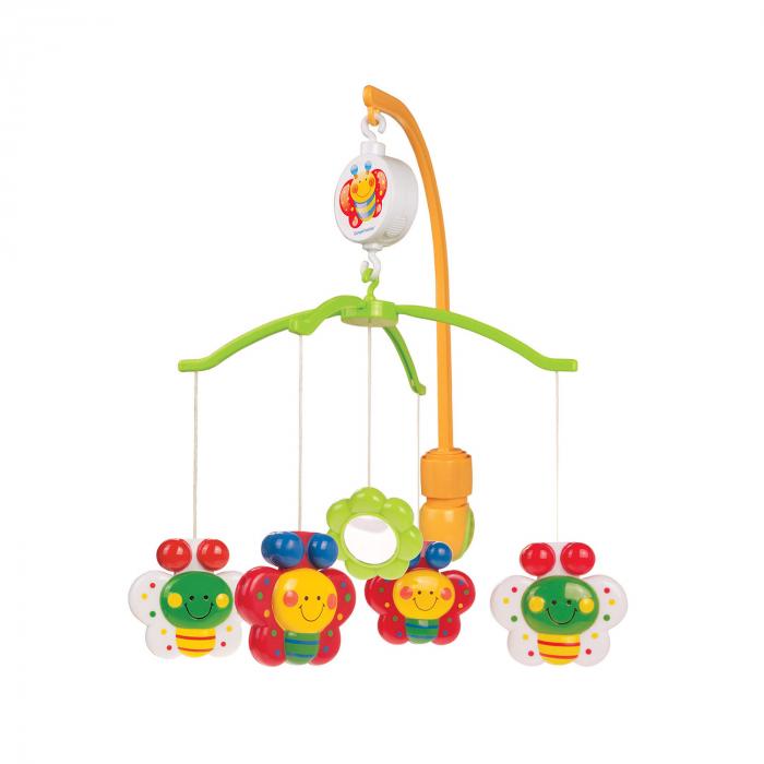 "Carusel muzical ""Fluturasi"", 0 luni +, multicolor [0]"