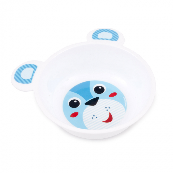 "Castron cu urechi ""Happy Faces"", Canpol babies®, 440 ml, fara BPA [0]"