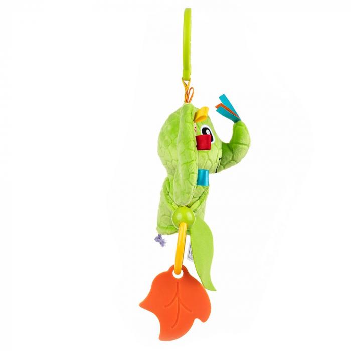 Elefantica Eva, Bali Bazoo, jucarie din plus cu sunatoare, parti moi si fosnaitoare, multicolora 4