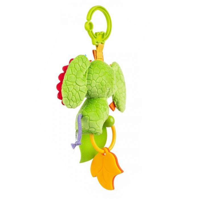 Elefantica Eva, Bali Bazoo, jucarie din plus cu sunatoare, parti moi si fosnaitoare, multicolora 2