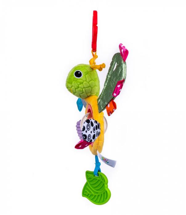 Fluturasul Lulu, Bali Bazoo, jucarie din plus cu sunatoare si fosnaitoare, multicolor 2