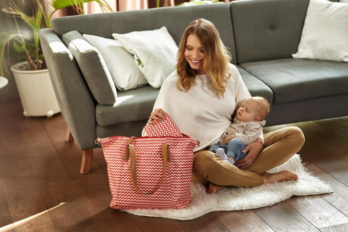 """Geanta multifunctionala pentru mamici """"Lady Mum"""" 78/500, Canpol babies®, multicolor 2"""