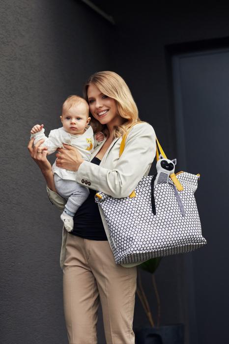 """Geanta multifunctionala pentru mamici """"Lady Mum"""" 78/503, Canpol babies®, multicolor 3"""