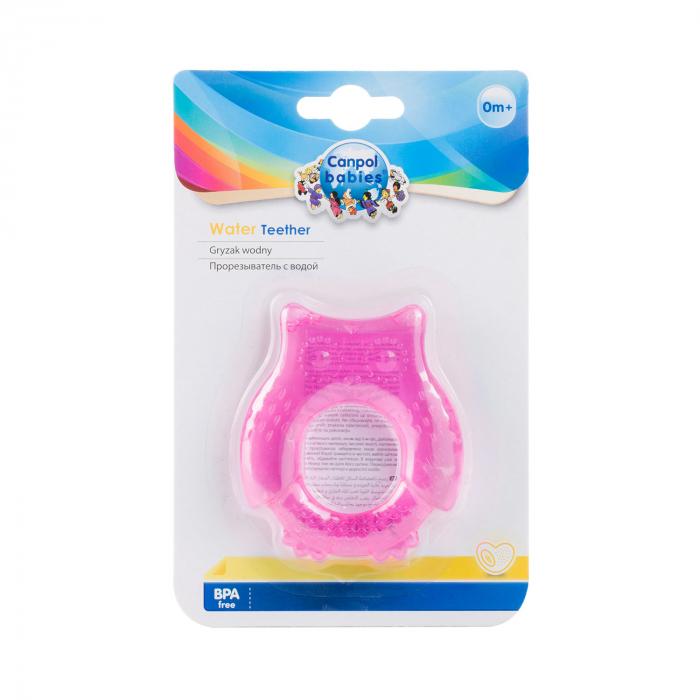 "Inel gingival ""Bufnita"", Canpol babies®, fara BPA [1]"