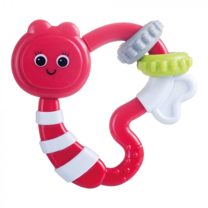Jucarie dentitie cu sunatoare, Canpol babies®, fara BPA, multicolor 0