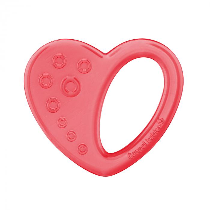 "Jucarie pentru dentitie ""Inimioara"", Canpol babies®, fara BPA [0]"