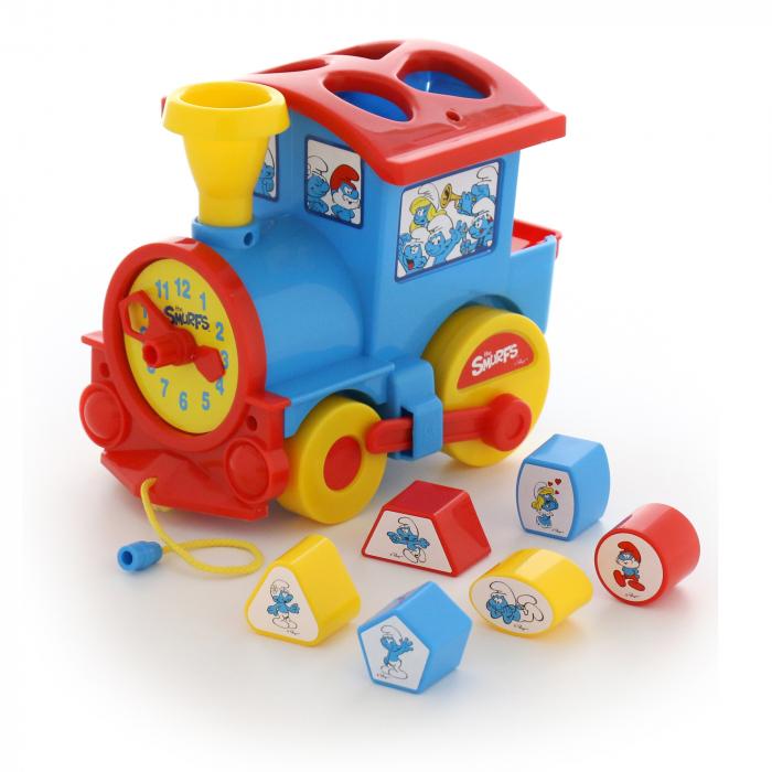 """Locomotiva """"Strumpfii"""", Polesie®, multicolor [0]"""
