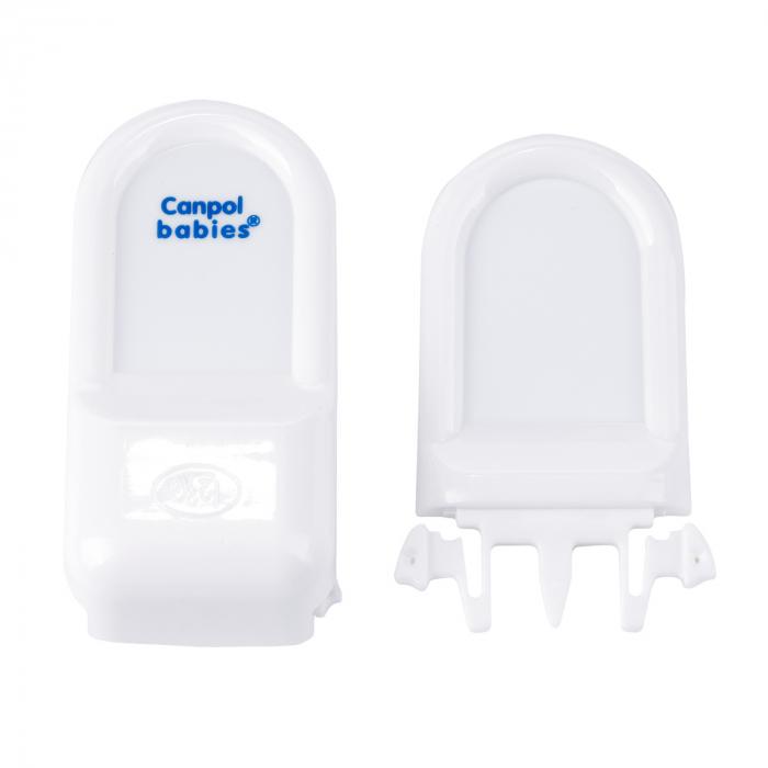 Încuietoare de siguranță pentru sertare, alb [2]