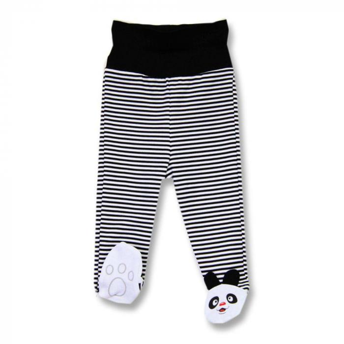 """Pantaloni cu botosei, 100% bumbac, colectia """"Panda"""" [0]"""