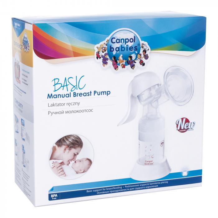 "Pompa manuala de san, Canpol babies®, ""Basic"" 2"
