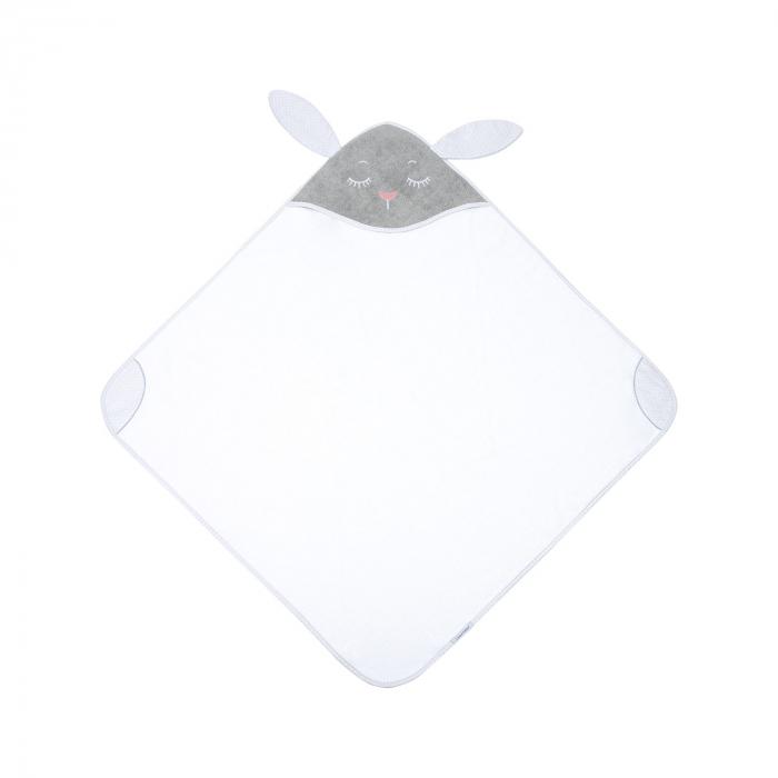 Prosop cu gluga 100% bumbac, 100 × 100 cm Bunny 2