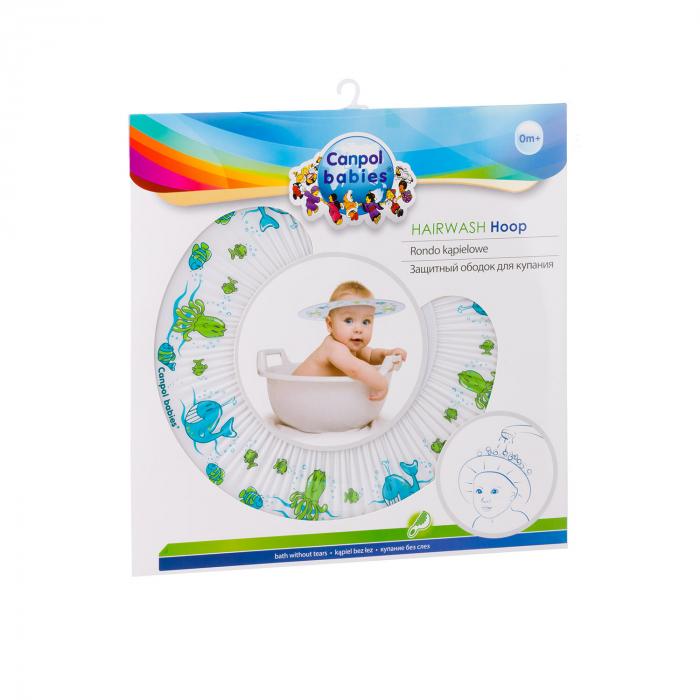 Protectie cap (pentru baie), Canpol babies®, fara BPA, multicolor 3