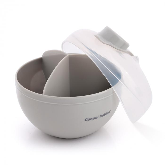 Recipient stocare lapte praf, Canpol babies®, fara BPA, alb [2]