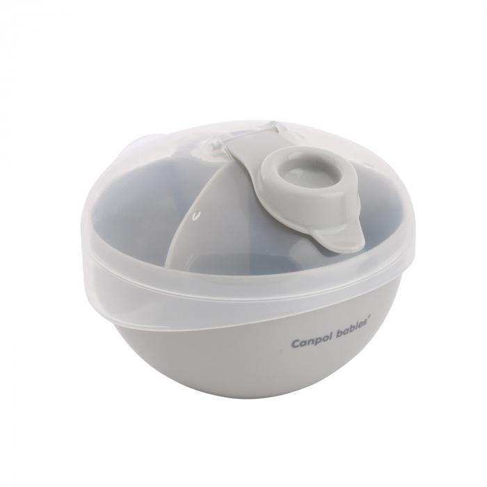 Recipient stocare lapte praf, Canpol babies®, fara BPA, alb [0]