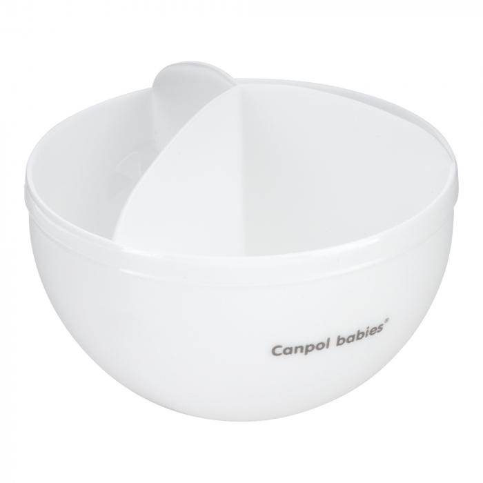 Recipient stocare lapte praf, Canpol babies®, fara BPA, alb 1