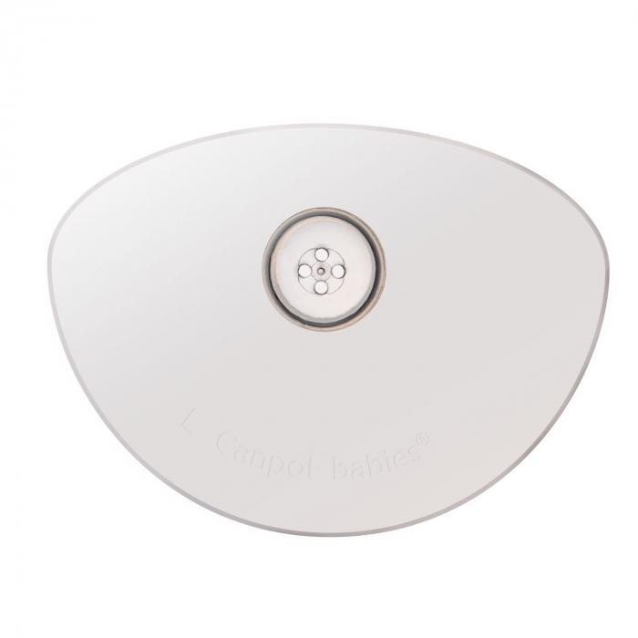 Set 2 protectii pentru mamelon, Canpol babies®, marimea M/L, silicon, fara BPA [2]