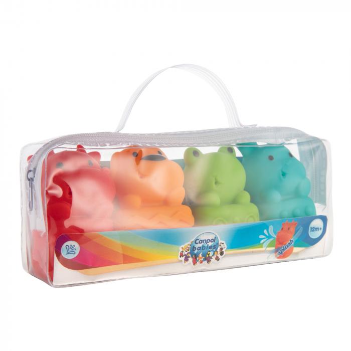 Set 4 jucarii pentru baie, fara BPA, multicolor 1