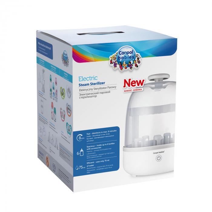 Sterilizator electric cu aburi, Canpol babies® 2