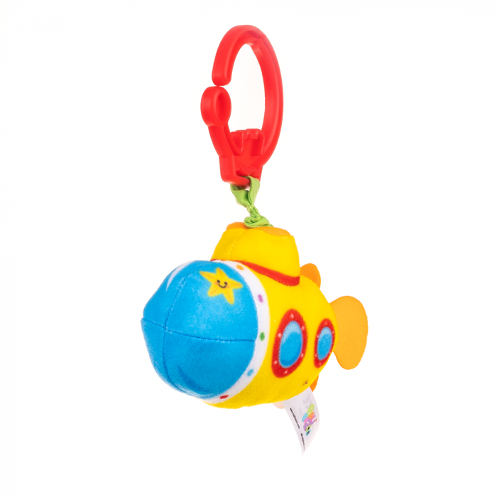 Submarin, Bali Bazoo, jucarie din plus cu vibratii, multicolora 3