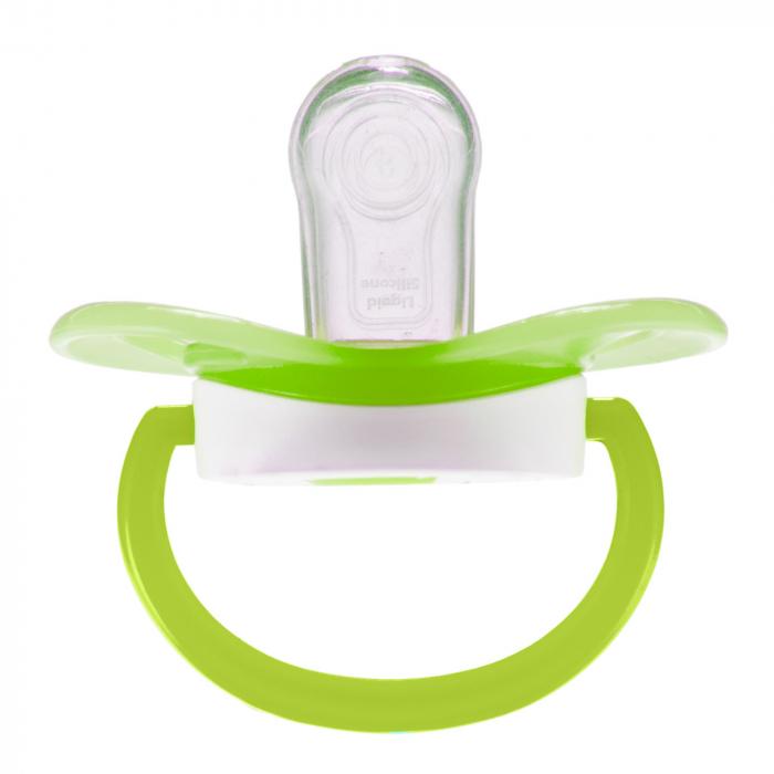 "Suzeta ""So Cool"" cu tetina simetrica silicon, fara BPA, 0-6 luni [1]"