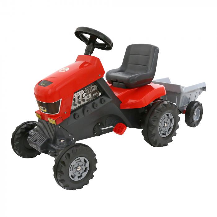 Tractoras cu remorca, Polesie®, multicolor 0