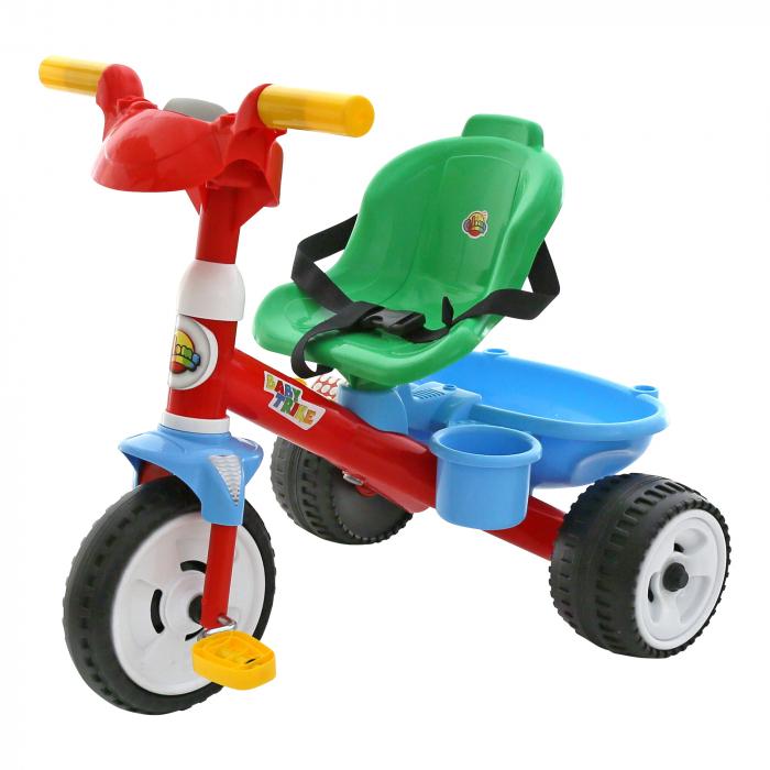 Tricicleta cu centuri si sunete, Polesie®, multicolor 0