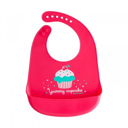 """Baveta din silicon moale """"Cupcake"""", fara BPA0"""