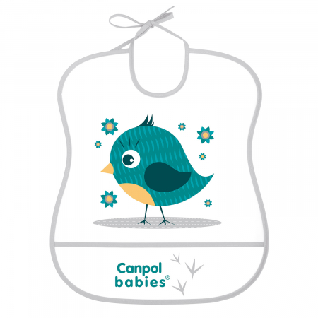 "Baveta ""Cute Animals"", Canpol babies®, fara BPA [0]"