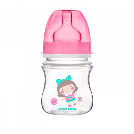 "Biberon anticolici gat larg ""Easy Start Toys"", Canpol babies®, polipropilena, 120 ml [0]"