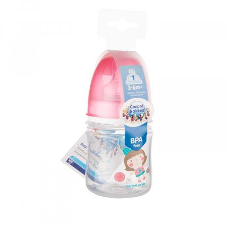 "Biberon anticolici gat larg ""Easy Start Toys"", Canpol babies®, polipropilena, 120 ml [1]"
