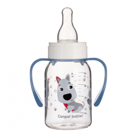 Biberon cu manere, Canpol babies®, Tritan, 120 ml [1]