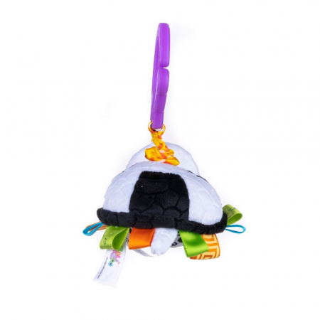 Broscuta, Bali Bazoo, jucarie din plus cu vibratii, multicolor4