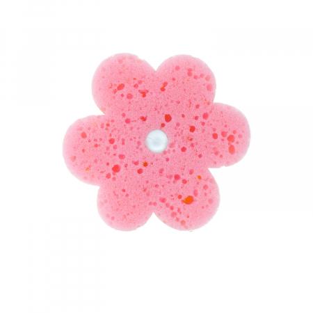 Burete baie in forma de floare cu ventuza1